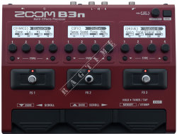 Zoom B3n - multiefekt do gitary basowej