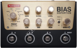 Positive Grid Bias Distortion Pro - efekt gitarowy