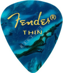 Fender Ocean Turquise 351 Thin - piórko do gitary