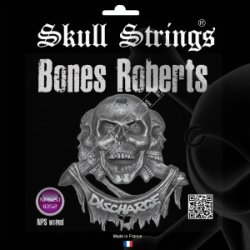 "Skull Strings Tezz Roberts ""Discharge"" 10-52 - struny do gitary"