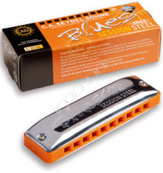 Seydel Blues Session Steel 10301 A - harmonijka ustna