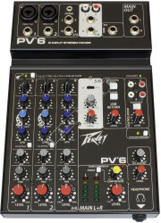 Peavey PV6 - mikser analogowy