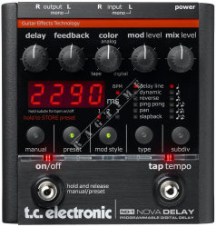 TC Electronic ND 1 Nova Delay - multiefekt gitarowy