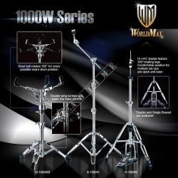World Max S1000WB Snare Stand - statyw pod werbel