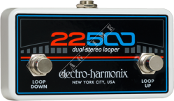 Electro Harmonix 22500 Dual Stereo Looper Footswitch