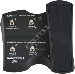 Peavey Sanpera I Foot Controller - footswitch