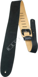 "Perri's 202 2.5"" Suede Black - pasek do gitary"