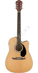 Fender FA 125CE Dreadnought Natural WN