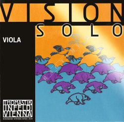 Thomastik Vision Solo VIS21 'A' Steelcore/Chrome