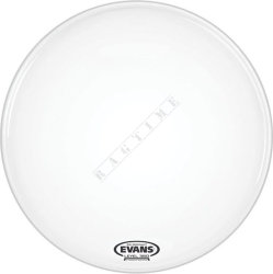 "Evans 22"" EQ1 Coated White - naciąg do perkusji"