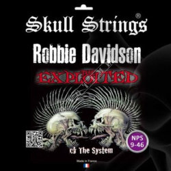 "Skull Strings Bones Roberts ""Discharge"" 9-46 - struny do gitary"