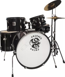 Dragon's Drums DD45251T Red Wine -  Zestaw Perkusyjne