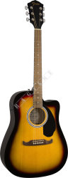 Fender FA 125CE Dreadnought SB WN