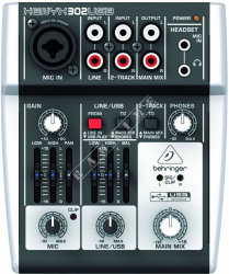 Behringer 302USB Xenyx - mikser analogowy