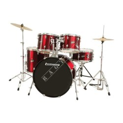 Ludwig Accent Drive Red LC17514 - zestaw perkusyjny