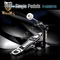 World Max P860PS Drum Pedal - stopa pojedyncza