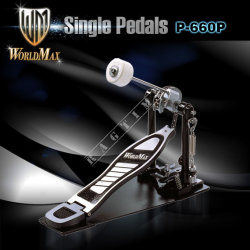 World Max P660 Drum Pedal - stopa pojedyncza