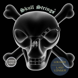 Skull Strings BASS Line B4 XM 60-125 - struny do gitary basowej