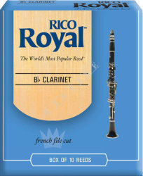 Rico Royal Klarnet Bb 2,5 - stroik do klarnetu Bb