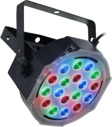 Flash LED PAR 56 Slim 18x3W RGB Aura