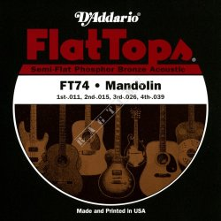 D'addario FT74 - struny do mandocello
