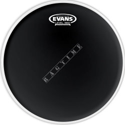 "Evans 12"" Resonant Black - naciąg do perkusji"