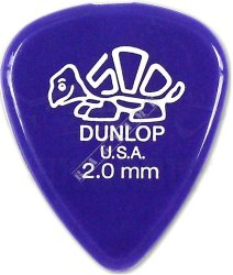Dunlop Delrin 2,0mm - kostka do gitary