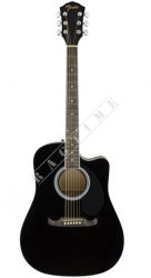 Fender FA 125CE Dreadnought Black WN