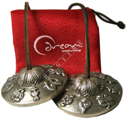 "Dream 2,5"" Timsha Finger Cymbals Medium - dzwonki małe"