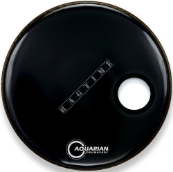 "Aquarian 22"" SMPTTC Classic Clear Black - naciąg do perkusji"